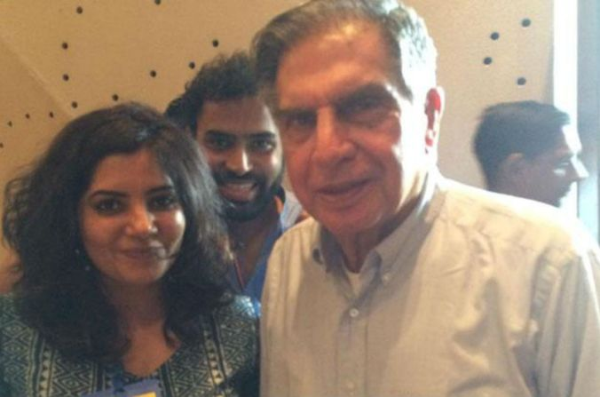 Shradha-Sharma-YourStory-with-ratan-tata-allstory